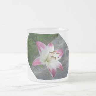 Lily Frosted Mug