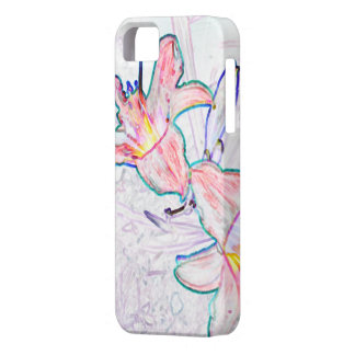 lily impression iPhone 5 cover