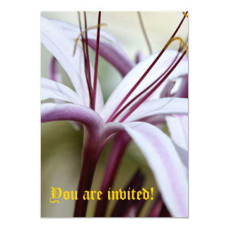 Lily Invitations - Customized
