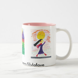 lily lafaye Two-Tone coffee mug