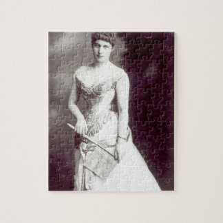 Lily Langtry (1853-1929) performing at the Haymark Jigsaw Puzzle
