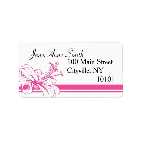 Lily & Lantern Wedding Collection, Return Label 1 Address Label