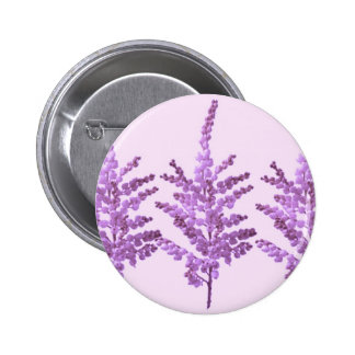 LILY LILLY Flower - Moonshine Violet Voilet 6 Cm Round Badge
