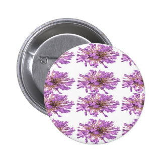 LILY LILLY Flower - Purple Violet Voilet 6 Cm Round Badge