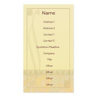 Lily Oak Nouveau Pack Of Standard Business Cards