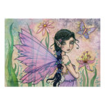 Lily of Love Fairy Poster Print