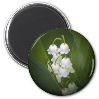 Lily-Of-The_Valley 6 Cm Round Magnet