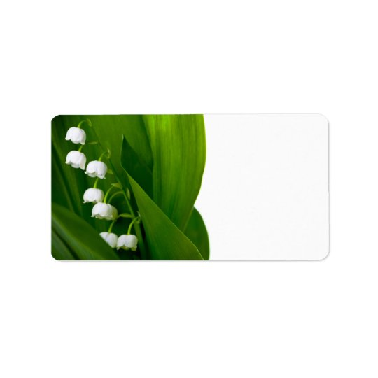 Lily Of The Valley Address Label