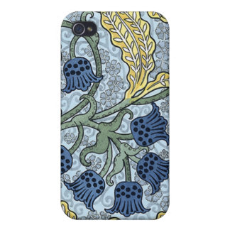 Lily of the Valley Art Nouveau Flowers Case For The iPhone 4