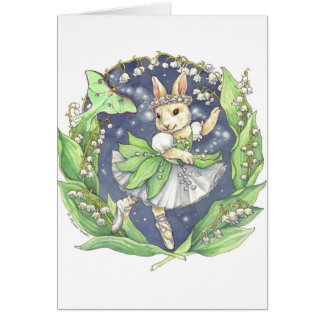 Lily of the Valley blank card