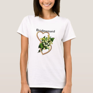 Lily of the Valley Bridesmaid T-Shirt