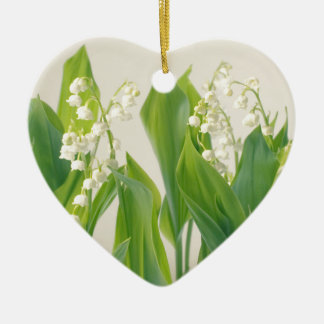 Lily of the Valley Christmas Ornament