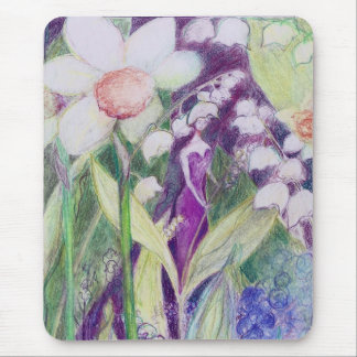 lily of the valley elve mouse pad