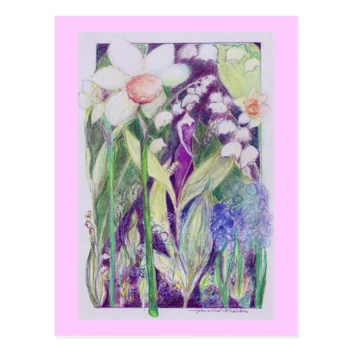 lily of the valley elve postcards