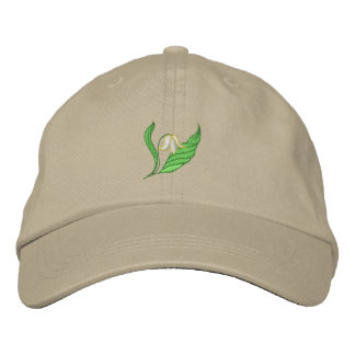 Lily Of The Valley Embroidered Hat