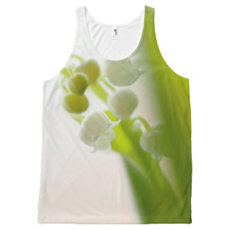 Lily of the Valley Flower All-Over Print Tank Top