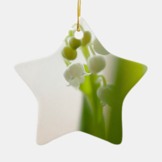 Lily of the Valley Flower Christmas Ornament