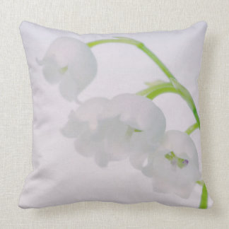 Lily of the Valley Flower Cushion