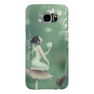 Lily of the Valley Flower Fairy Samsung Galaxy S6 Cases