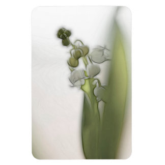 Lily of the Valley Flower Magnet