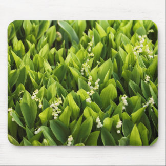 Lily of the Valley Flower Patch Mouse Mat