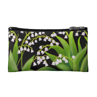 Lily of the Valley Flowers Bagettes Bag Makeup Bag