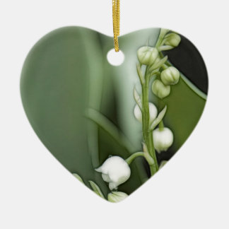 Lily of the Valley Flowers Christmas Ornament