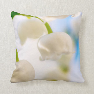 Lily of the Valley Flowers Cushion