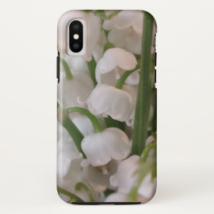 Lily of the Valley Flowers iPhone X Case