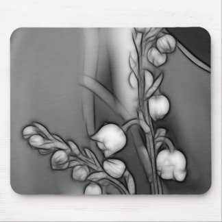 Lily of the Valley Flowers Mouse Mat
