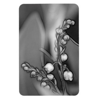 Lily of the Valley Flowers Rectangular Photo Magnet