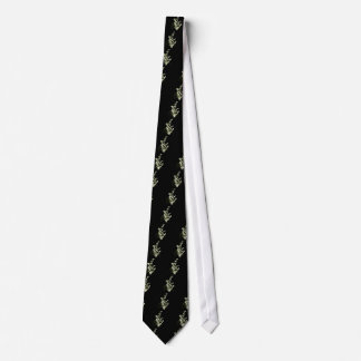 Lily of the Valley flowers Tie