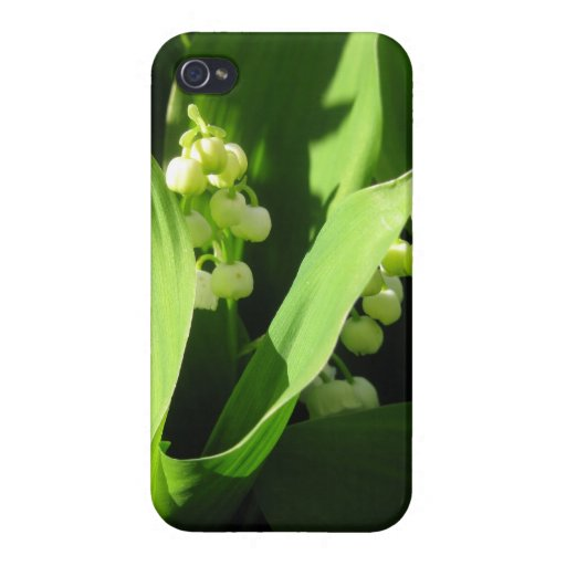 Lily Of The Valley iPhone 4/4S Covers