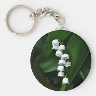Lily of the Valley keychain