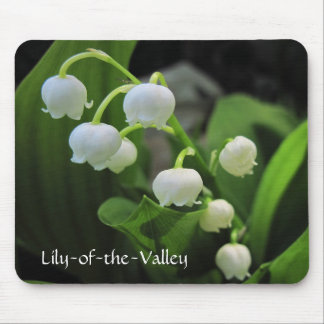 Lily-of-the-Valley Mouse Pad
