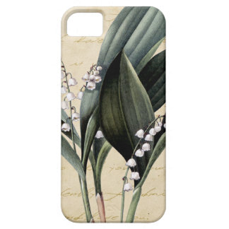 Lily of the valley on pride and prejudice text iPhone 5 cover