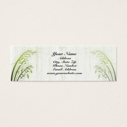 Lily of the Valley Profile Card