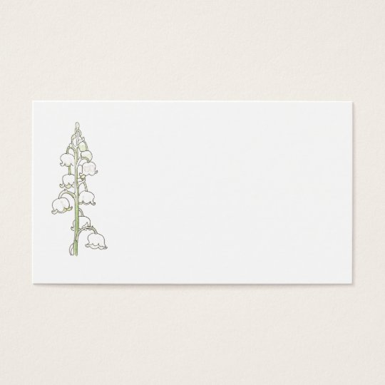 Lily of the Valley Rustic Wedding Place Name