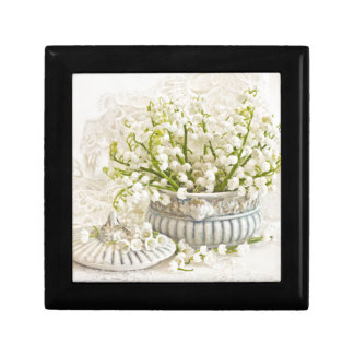Lily Of The Valley Small Square Gift Box