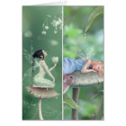 Lily of the Valley & Sweet Dreams Bookmark Card