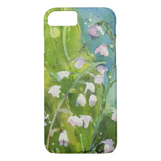 Lily of the Valley watercolor iPhone 7 Case