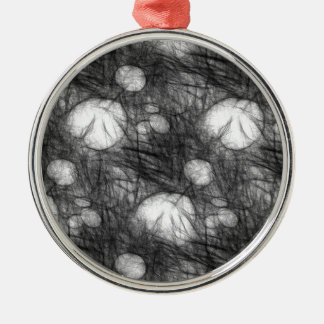 Lily Pad Doodle Christmas Ornament