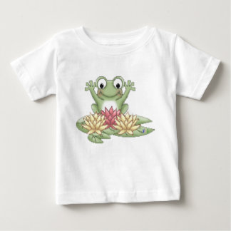 Lily Pad Frog Baby T-Shirt