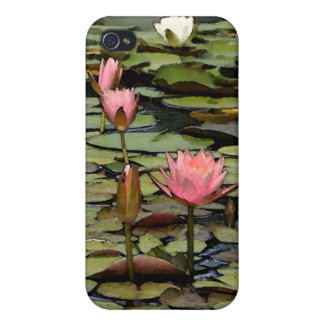 Lily Pad iPhone4 Case iPhone 4 Cover