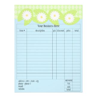 Lily Pad Order Form 21.5 Cm X 28 Cm Flyer