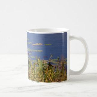 Lily Pads Basic White Mug