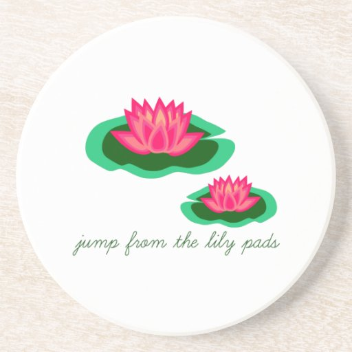 Lily Pads Drink Coaster