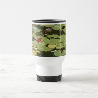 Lily pads Impressionism Art Travel Mug