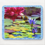 Lily Pads Painting Mouse Mat