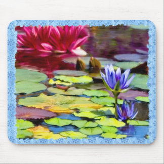 Lily Pads Painting Mouse Pad